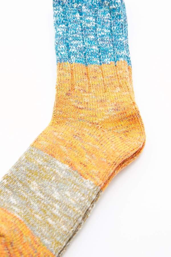 Kapital 56 Yarns GOGH Stretch Socks - Orange