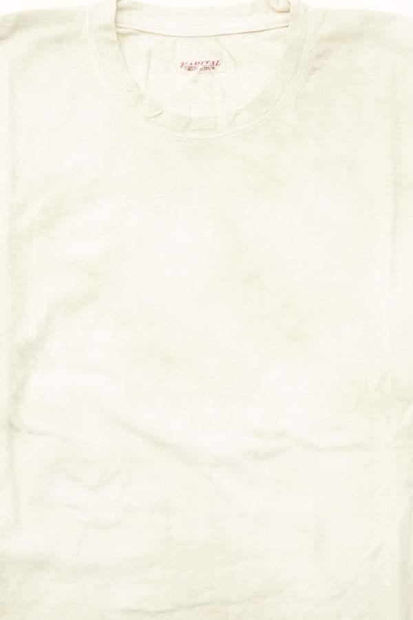 Kapital Kountry 18.5 Jersey Hippie Long Sleeve T (Ashbury Dyed) - Light Green