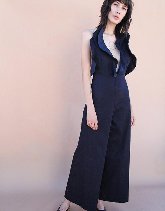 Toit Volant Flora Lily Long Pantsuit