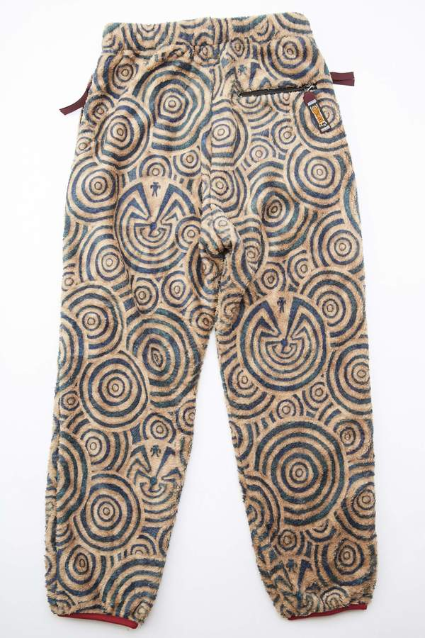 Kapital MAZE Fleece EASY Pants - Beige