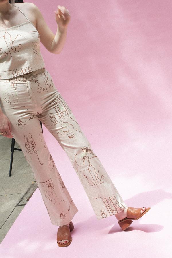 Paloma Wool Emilio Pants - Off White
