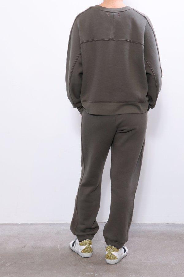 Xirena Miles Sweatshirt - Olive Stone