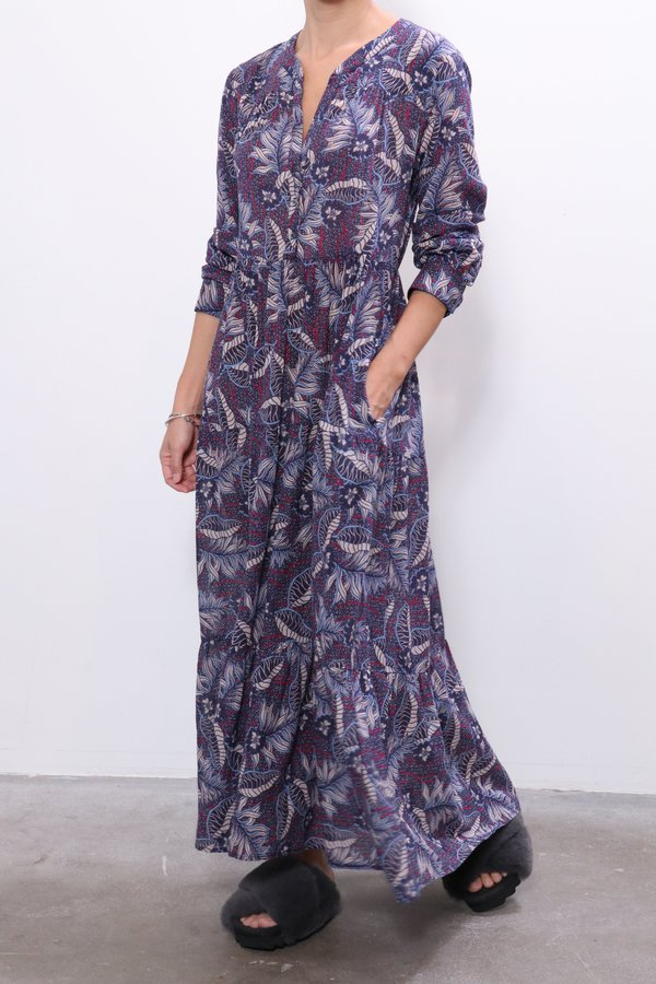 Xirena Ember Dress - Blue Fauna