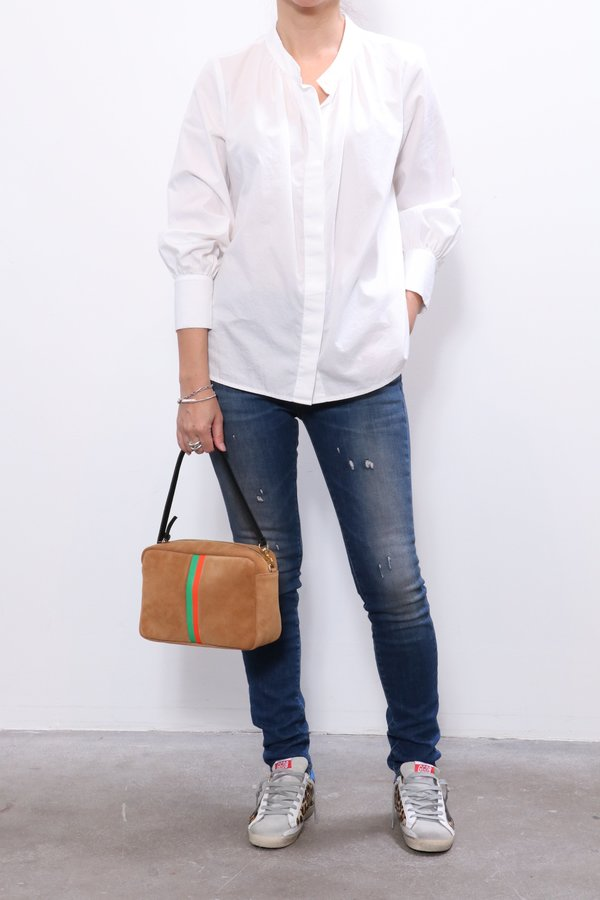Xirena Lila Shirt - Crystal White