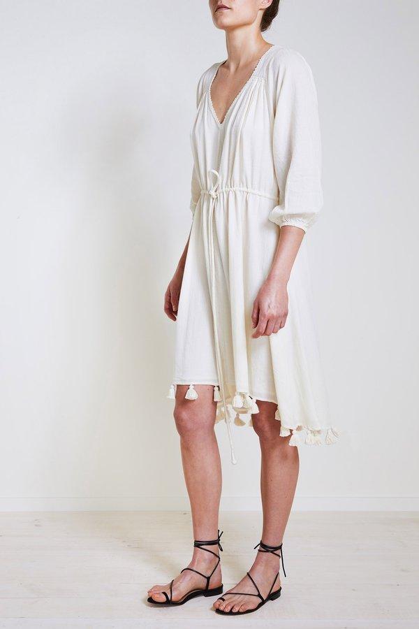 Apiece Apart Lovegrass Mini Dress - Cream