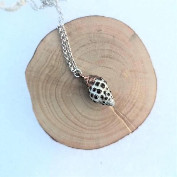 The Woven Dream Sea Shell Necklace - Copper