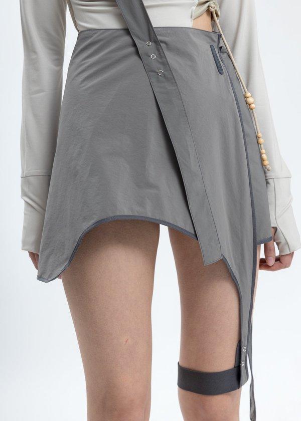 Hyein Seo Garter Skirt - Grey