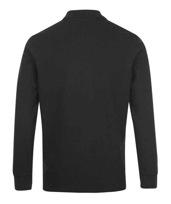 PS Paul Smith Regular Fit LS Polo Shirt - Black