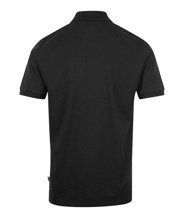 PS Paul Smith Regular Fit Zip Polo Shirt - Black
