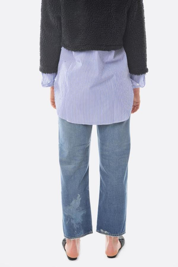 Chimala Wide Tapered Cut Jean - Vintage Wash