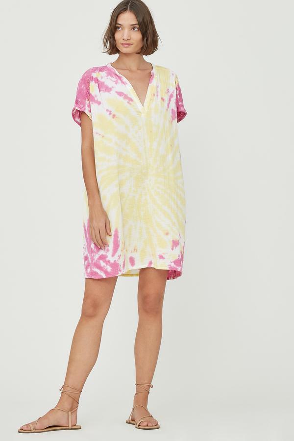 Lacausa Agave Tunic - Pink Lemonade
