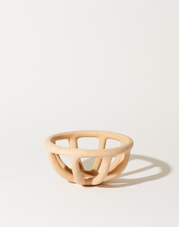Sin Small Prong Bowl - Speckled