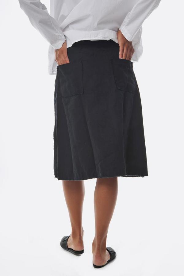 Pipsqueak Chapeau cotton denim twill skirt - ink
