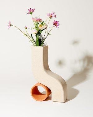 Sin Doline Vase - Terracotta/Speckled