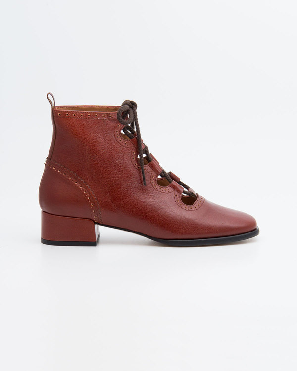 NAGUISA ELUR BOOT - BROWN