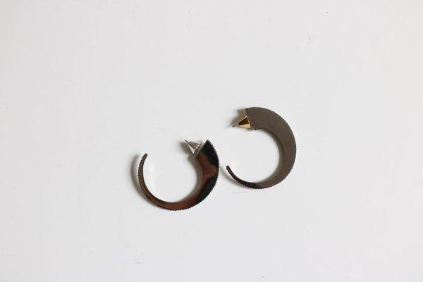 [Pre-loved] Sarah Magid Open Hoops - Slate