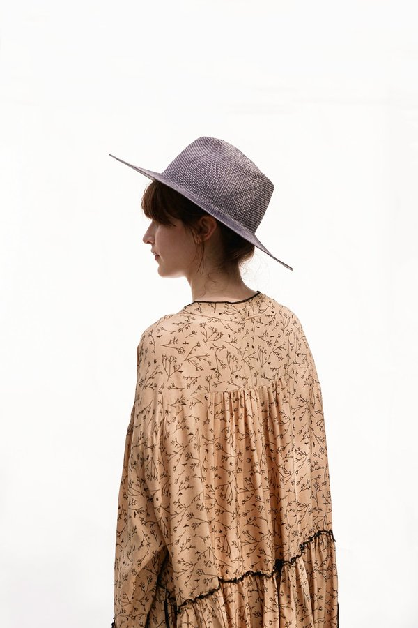 WYETH LUCY Straw Panama Hat