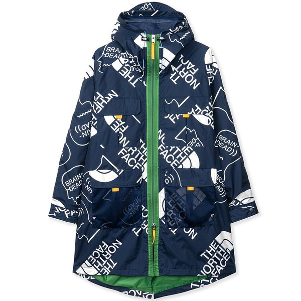 Brain Dead x The North Face 76 Oversized Mountain Parka - TNF Navy