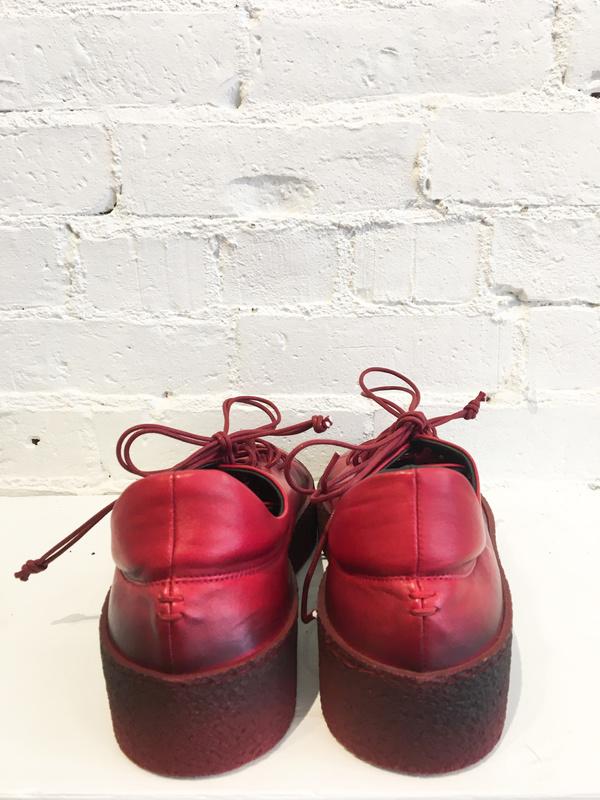 Halmanera Baron Passion Sneaker - Red