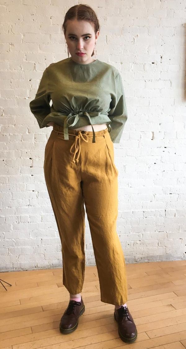 HUMANOID Sana Trousers - Honey