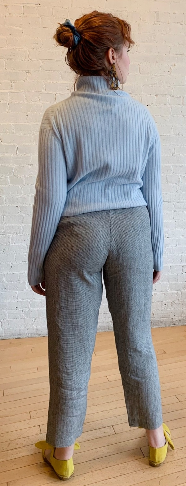Échappées Belles Fanch Trousers - Black/White Houndstooth