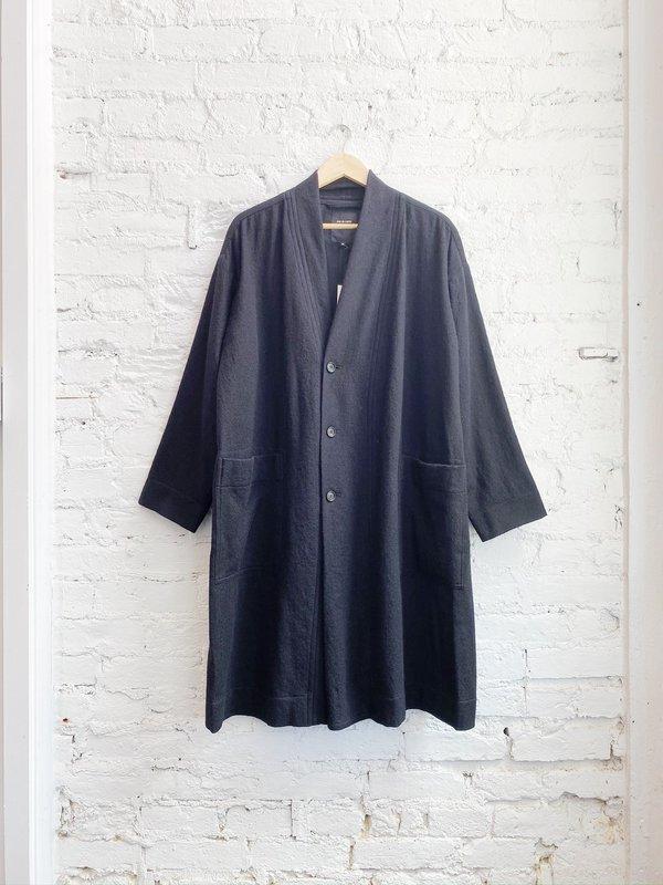 Pas de Calais Cardigan Coat - BLACK