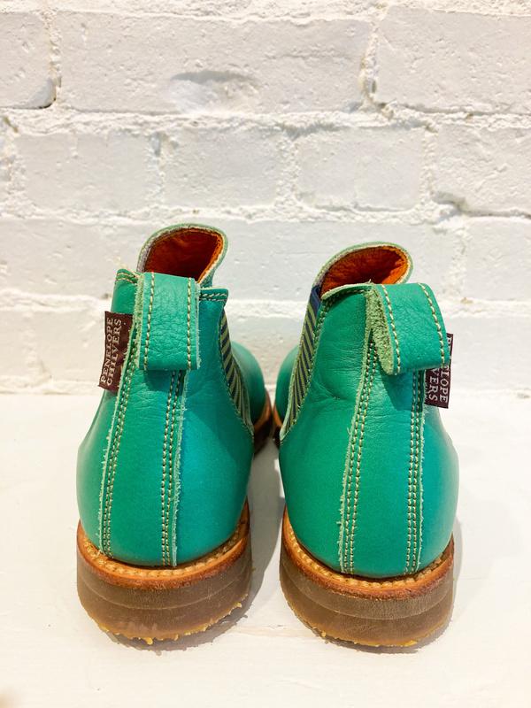 PENELOPE CHILVERS Leather Safari Boot - Emerald