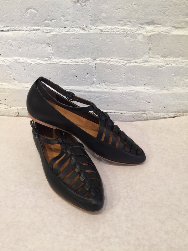 Coclico Leather Ringo Flat - Black
