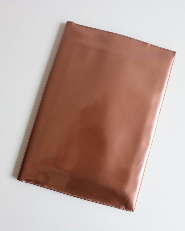 [Pre-loved] Marni Metallic Clutch - Rose Gold