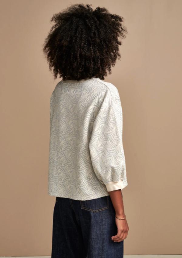 Bellerose Vow Sweatshirt - Silver Scape