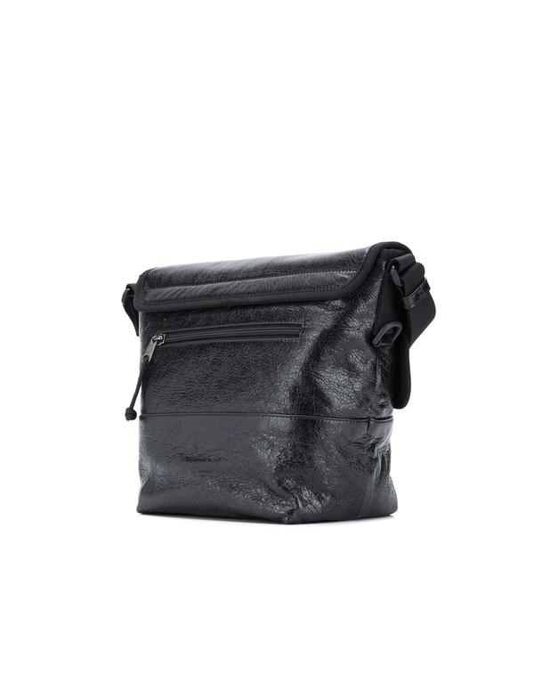 Balenciaga Leather Exlorer Bag - Black