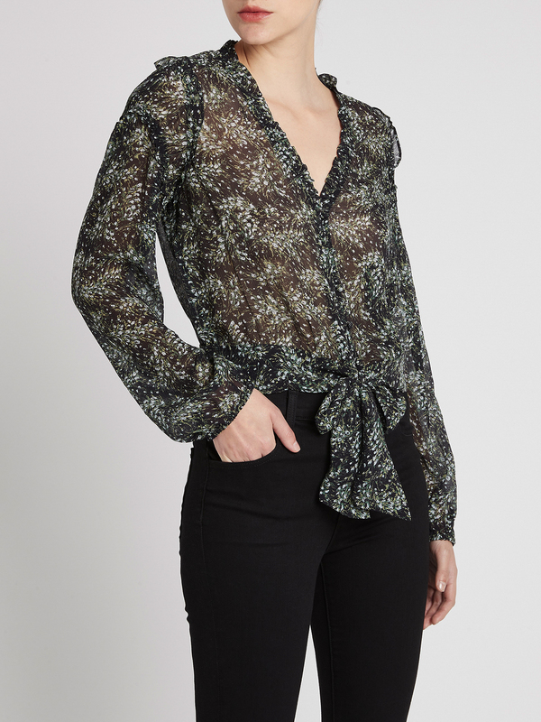 Paige Tulia Blouse - Black