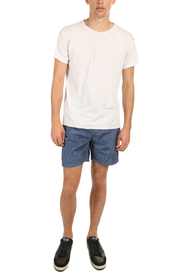 Stone Island Nylon Metal Shorts - Dark Blue