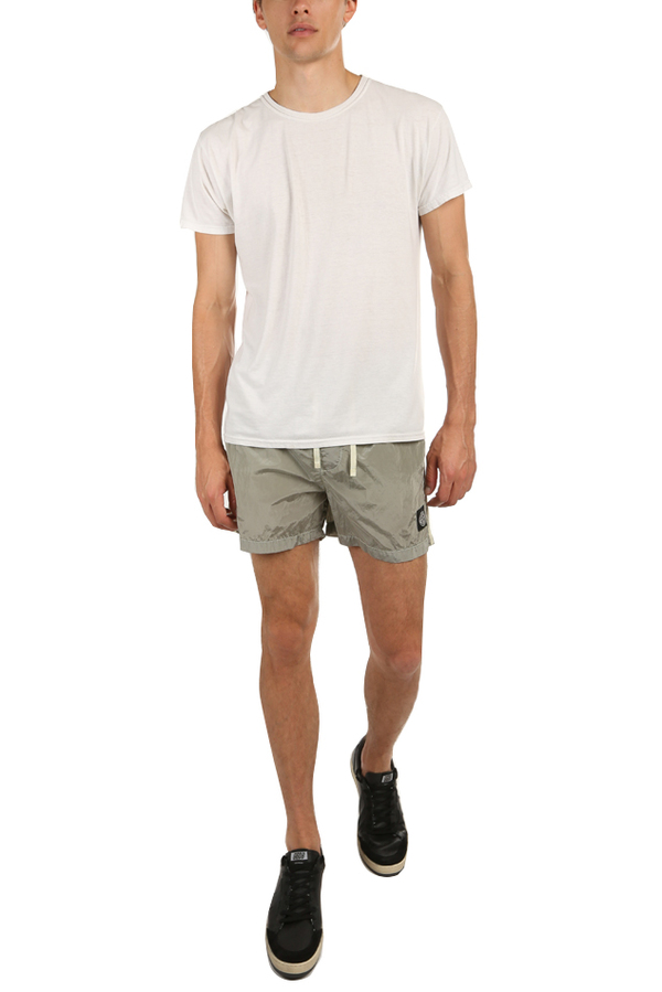 Stone Island Nylon Metal Swim Shorts - Dust Grey