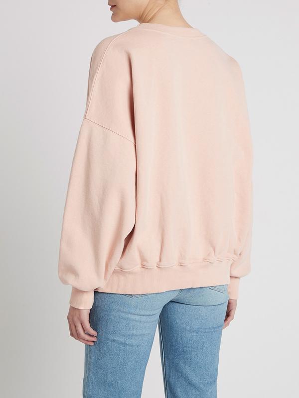 american vintage Wititi Sweatshirt - Marshmallow