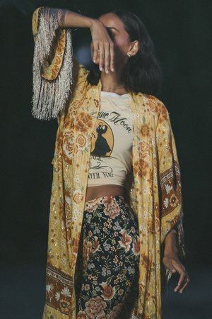 SPELL & THE GYPSY COLLECTIVE Mystic Tasselled Robe