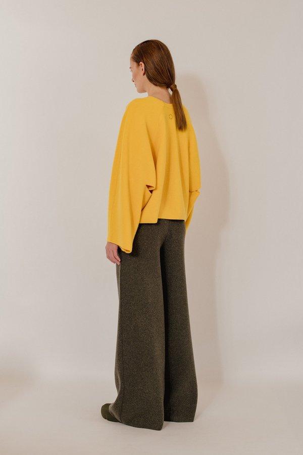 Cloe Knitted Wool Blend Pullover - Star Sun