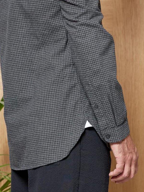 Oliver Spencer Clerkenwell Tab Shirt - Chester Grey