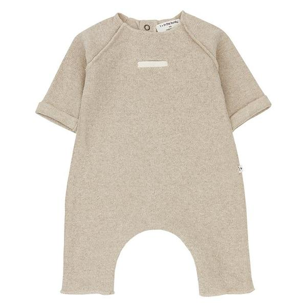 Kids 1+ In The Family Baby Alexandre Jumpsuit - Cream