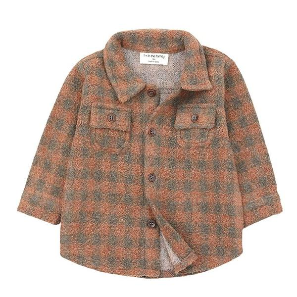 Kids 1+ In The Family Pal Shirt with Checks