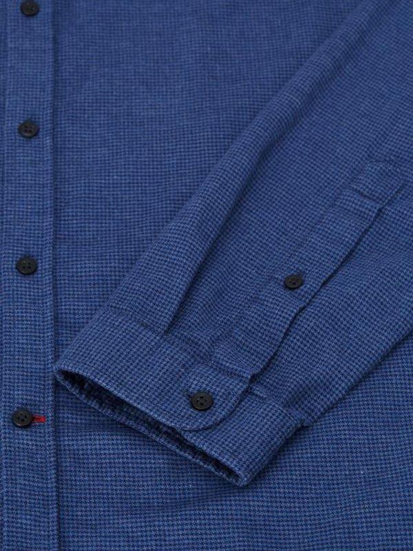 Oliver Spencer Clerkenwell Tab Shirt - Pippen Blue