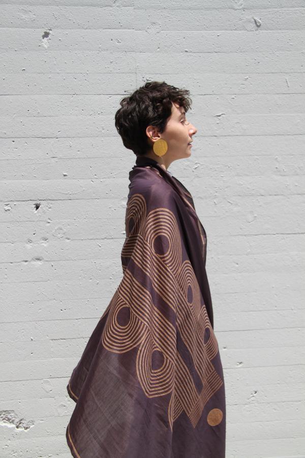 Unisex Block Shop Textiles Poiret Scarf