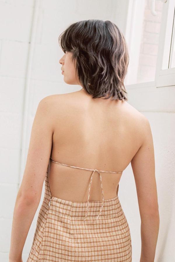 Paloma Wool Rosa Halter Dress