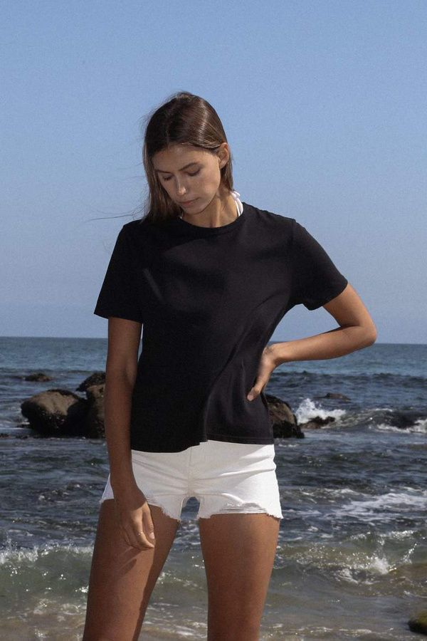 Christina Lehr Basic Crew - Black