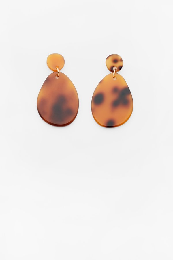 Valet Studio Pandora Earrings - Tortoise