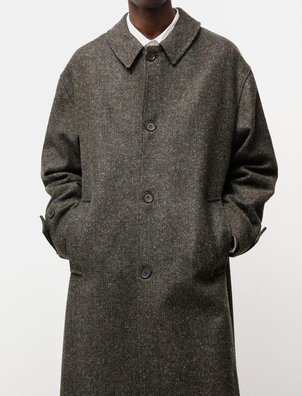 mfpen Hollis Coat - Forest Tweed