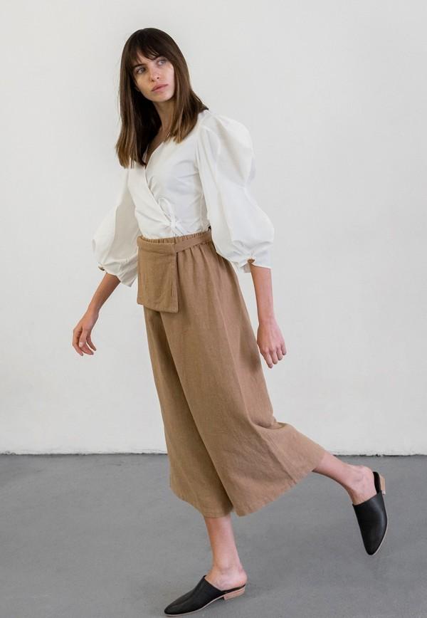 MONICA CORDERA WAIST BAG PANTS - CLAY POT