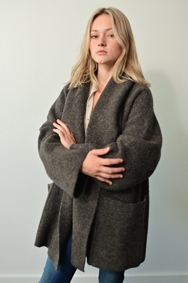 Lauren Manoogian Double Face Coat - Patina