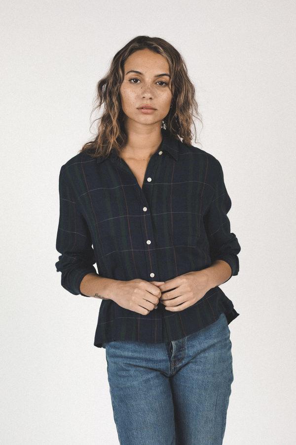 Trovata Shirt - Blackwatch Plaid