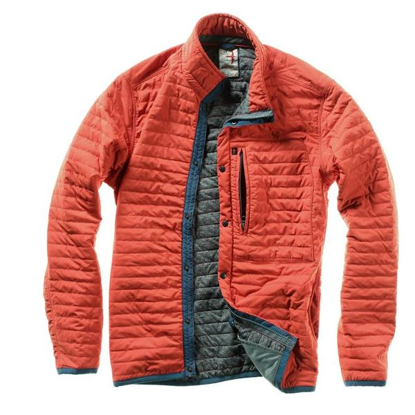 Relwen Windzip Jacket - Dark Orange